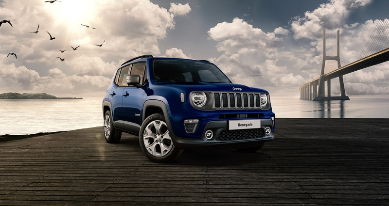 Jeep Renegade Limited 1.3 Turbo 150 CP Automata al...