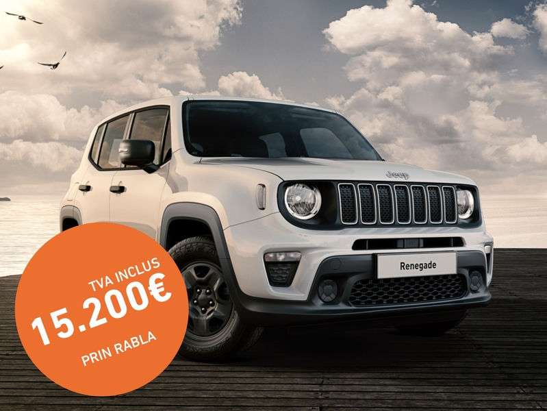 Jeep Renegade Sport 120 CP alb
